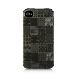 Insten Black Voodoo Hard Snap-on Rubberized Matte Case Cover For Apple iPhone 4/4S