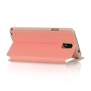 Insten Pink Leather Case Cover with Stand For Samsung Galaxy Note 3