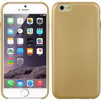 Insten Gold Hard Snap-on Rubberized Matte Case Cover For Apple iPhone 6/6s