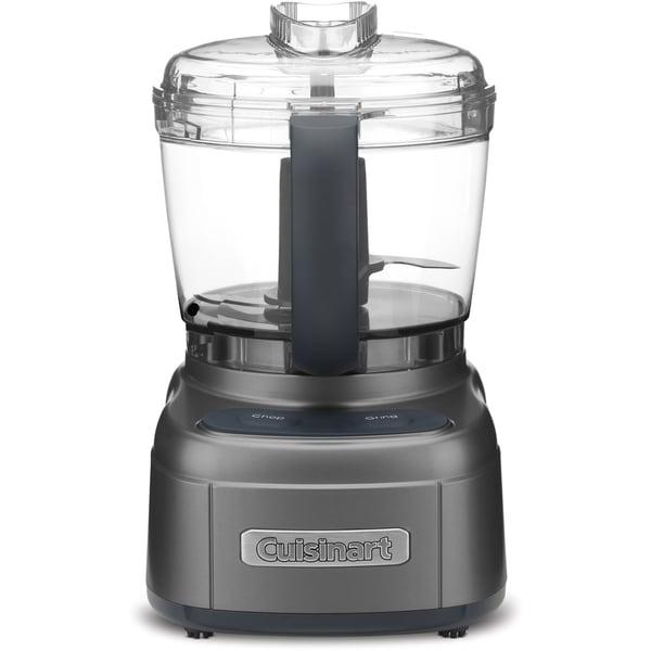 Cuisinart Elemental 4-Cup Chopper/Grinder, Dark Gray