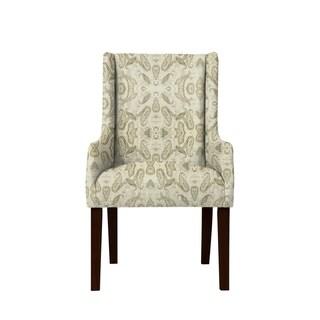 Emma Arm Chair with Scorn Fabric  693
