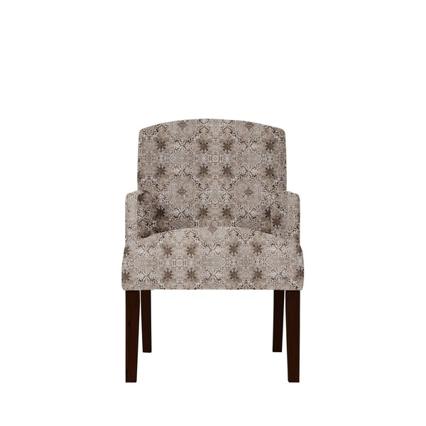 Samantha Arm Chair with Moore Fabric 636