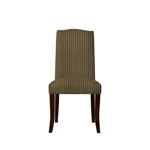 Set of 2 Martina Side Chairs with Bravery Fabric 602
