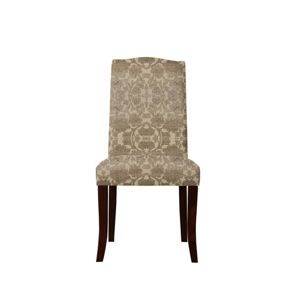 Set of 2 Martina Side Chairs with Plush Fabric 648