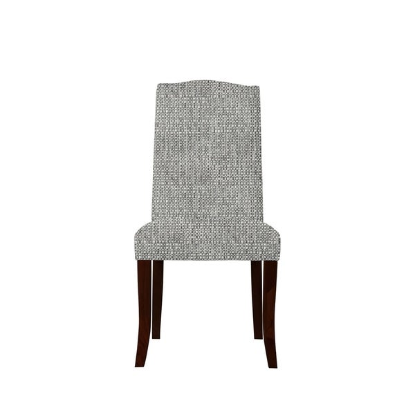 Set of 2 Martina Side Chairs with Raven Fabric 679