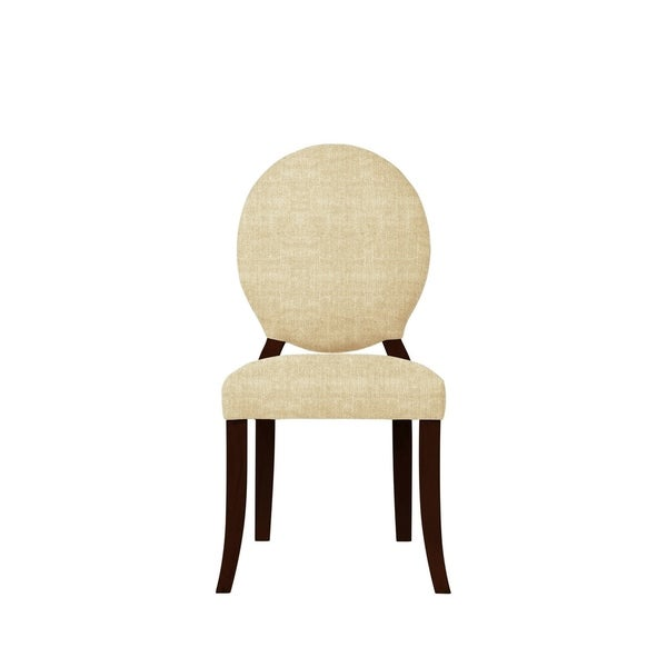 Set of 2 Isabella Side Chairs with Jazz Fabric 624