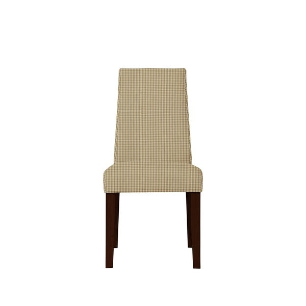 Set of 2 Sofia Side Chairs with Cantina Fabric 612