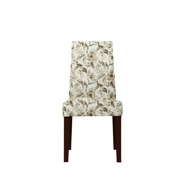 Set of 2 Sofia Side Chairs with Montigue Fabric 640