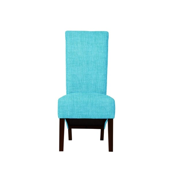 Set of 2 Velentina Side Chairs with Hallow Fabric  680