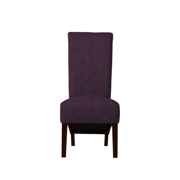 Set of 2 Velentina Side Chairs with Hallow Fabric  696
