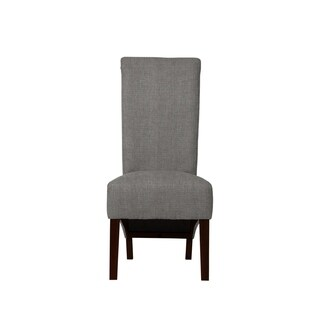 Velentina Grey Upholstered Side Chairs (Set of 2)