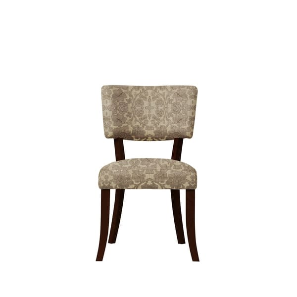 Shop Set of 2 Luciana Side Chairs with Plush Fabric 648 - Free