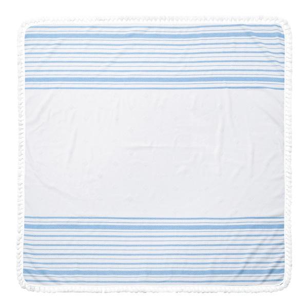 Arlo Turkish Cotton 60-inch Square Beach Towel