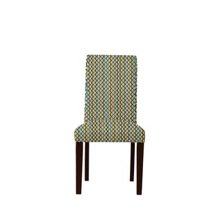 Daniala 665 Zerox Fabric Side Chairs (Set of 2)