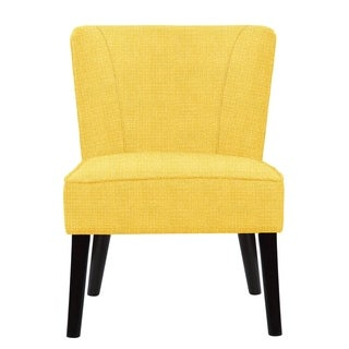 Gabriela Accent Chair with Raven Fabric  678