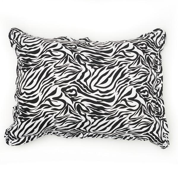Zebra Stripe 100 Percent Cotton Sham