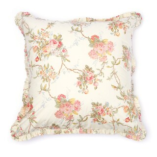 Floral Vines Euro Shams (Set of 2)