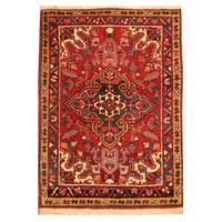 Herat Oriental Persian Hand-knotted Heriz Wool Area Rug (2'3 x 3'2)