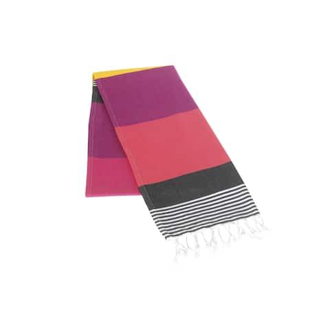 Miami Pestemal Fouta Turkish Cotton Beach Towel - 40x70 inches