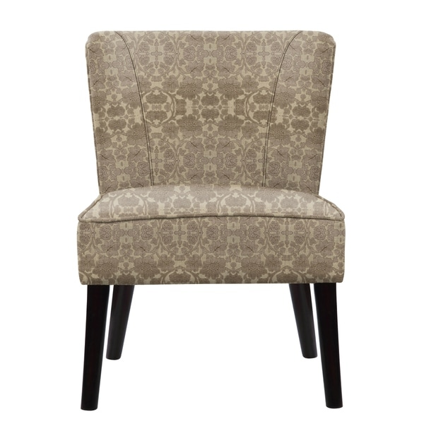 Gabriela Accent Chair with Plush Fabric  648