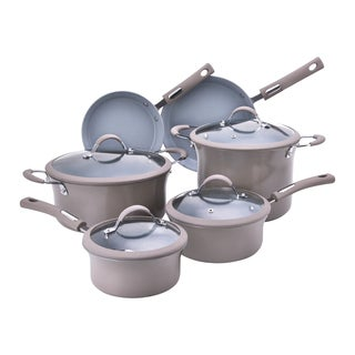 Hamilton Beach 10-Piece Aluminum Non-Stick Cookware Set