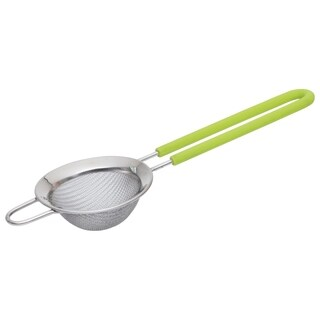 "CooknCo Strainer 2.75"", Lime Handle"