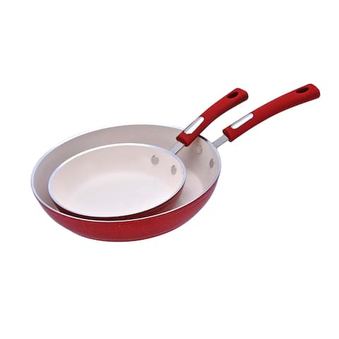 Hamilton Beach 2-Piece Aluminum Non-Stick Fry Pan Set