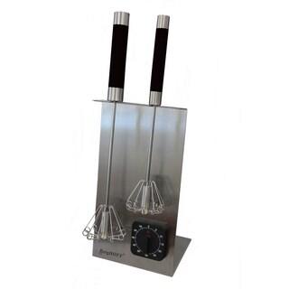 Whisk Stand & Timer Set - Black