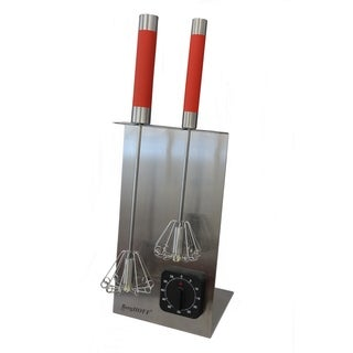 Whisk Stand & Timer Set - Red