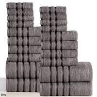Panache Home Collection 100-percent Combed Cotton 550 GSM 20-piece Towel Set