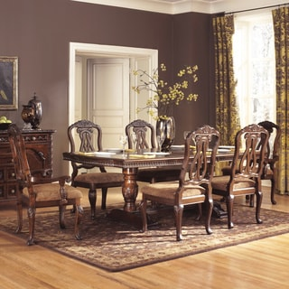 Sunhill Formall Rectangular Dining Room Set, Table with 8 Chairs