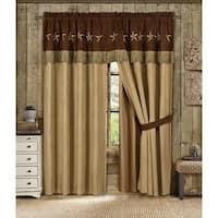Star Laredo Winslow 4-piece Super Heavy Curtain Panel Set