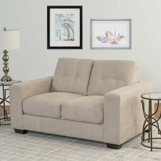 CorLiving Club Chenille Fabric Loveseat