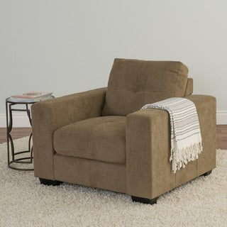 CorLiving Club Chenille Fabric Chair