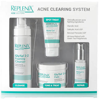 Replenix Acne 4-piece Clearing System Level 1