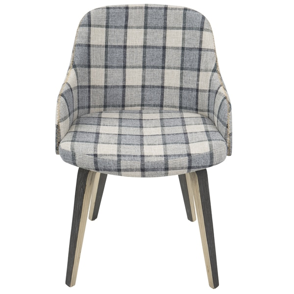 Bacci Mid Century Modern Upholstered Dining/Accent Chair   Free Shipping  Today   Overstock.com   23073453