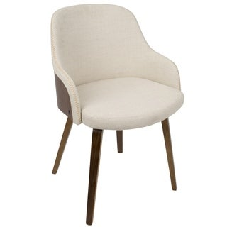 Bacci Mid-Century Modern Upholstered Dining/Accent Chair