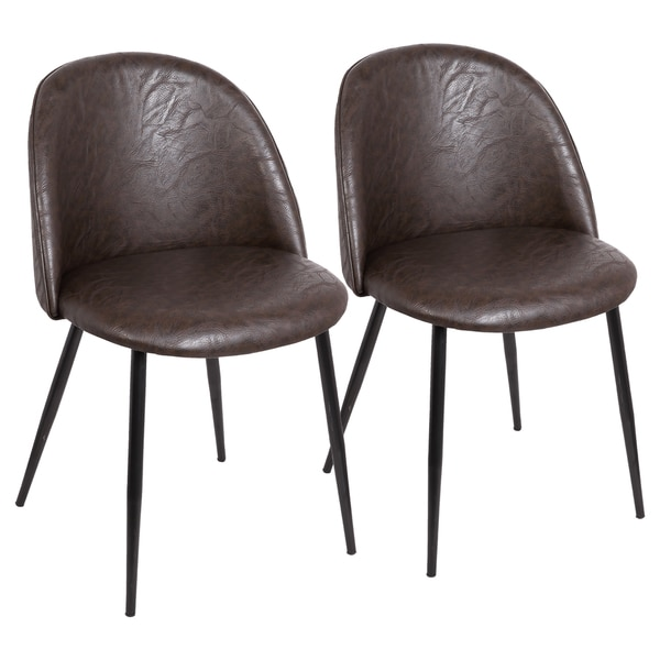 Luna Contemporary Dining/Accent Chair (Set of 2)