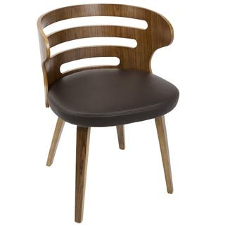 Cosi Mid-Century Modern Walnut Wood Dining Accent Chair|https://ak1.ostkcdn.com/images/products/16764443/P23073455.jpg?impolicy=medium