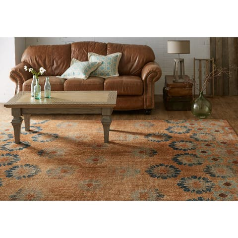 Mohawk Home In Bloom Woven Area Rug