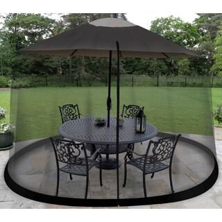 Outdoor Umbrella Table Screen