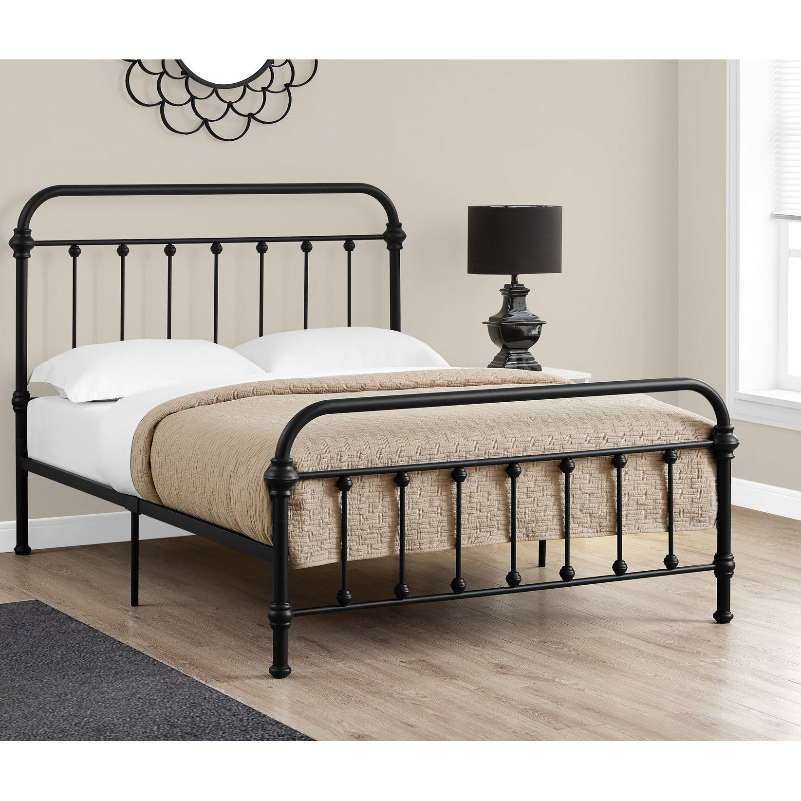 bed frames for full size beds shop monarch black metal size bed frame free 20230