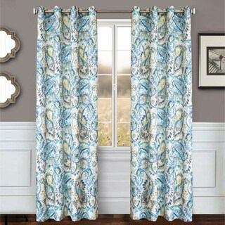 Softline Home Fashion's Lerin Grommet Top Curtain Panel