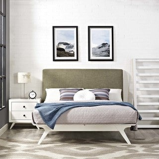 Link to Modway Tracy Rubberwood Queen Bed Similar Items in Bedroom Furniture