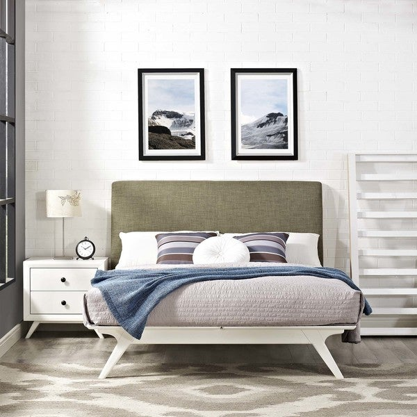 Modway Tracy Rubberwood Queen Bed. Opens flyout.