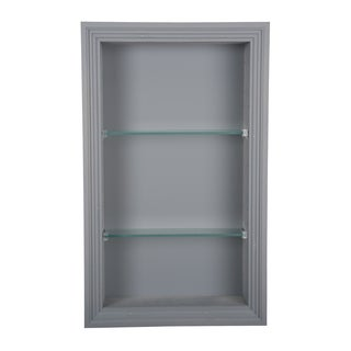 Recessed In the Wall Primed Newberry Niche 3.5d (More options available)