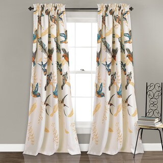 Lush Decor Bird Breeze Room-darkening Window Curtain Panel Pair|https://ak1.ostkcdn.com/images/products/16764604/P23073604.jpg?_ostk_perf_=percv&impolicy=medium