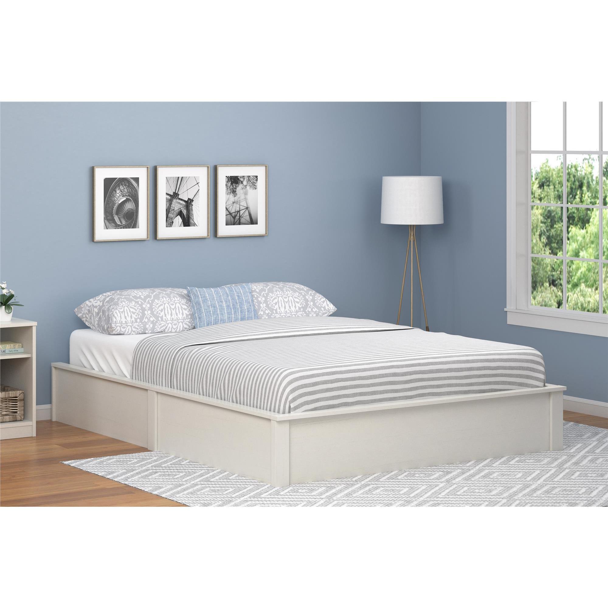 Shop Havenside Home Amelia Platform Queen size Bed Frame   Free