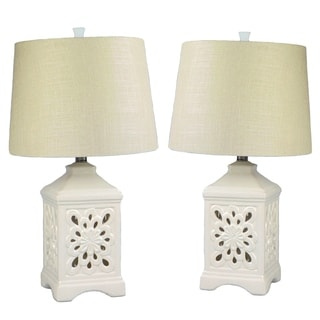 """Kire"" Table Lamp Set of 2 - 24""H"