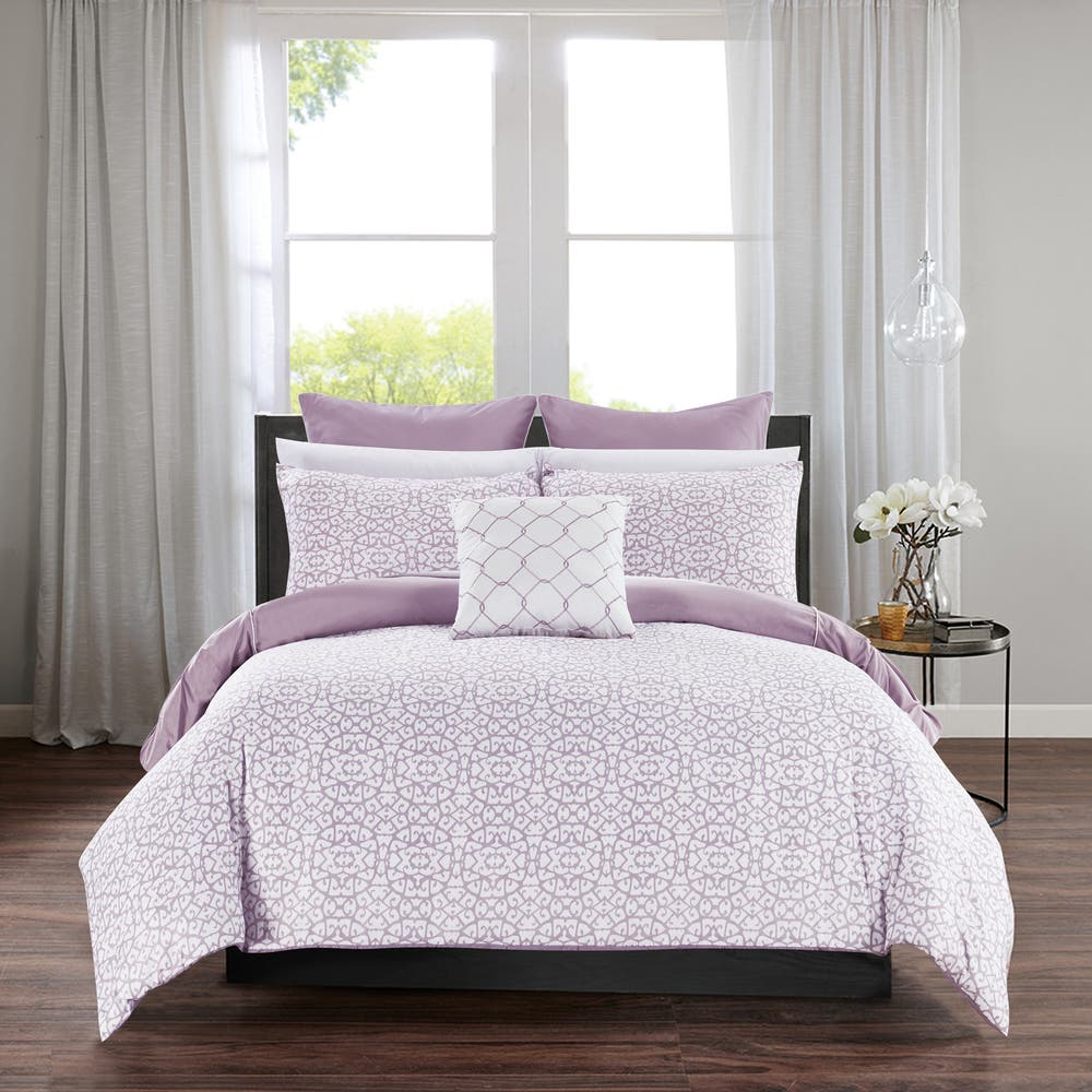 Chic Home Rajiv Lavender 10 Piece Bed In A Bag